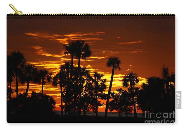 Orange Skies Carry-all Pouch