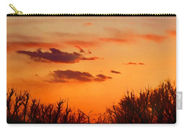 Orange Sky At Night Carry-all Pouch