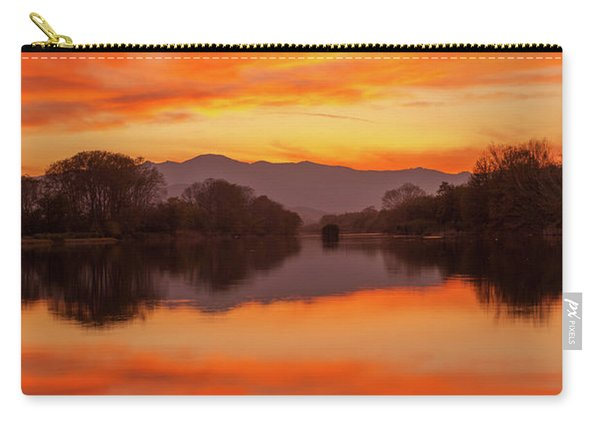 Orange Sunset Carry-all Pouch