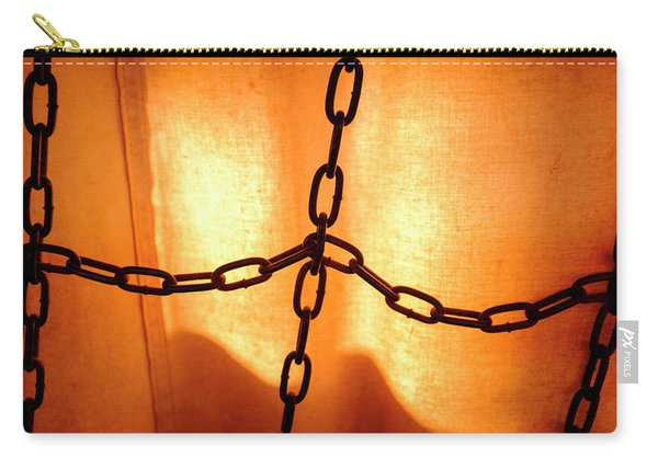 Orange With Black Chains In Seattle Washington Carry-all Pouch