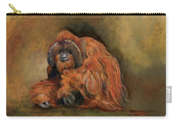 Orangutan Monkey Carry-all Pouch