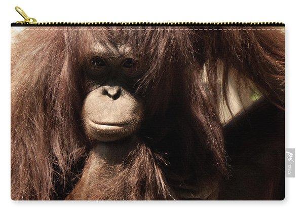 Orangutan Pose Carry-all Pouch