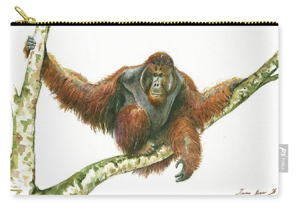 Orangutang Carry-all Pouch