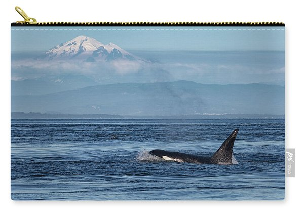 Orca Male With Mt Baker Carry-all Pouch