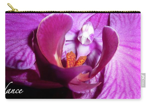 Orchid Abundance Carry-all Pouch