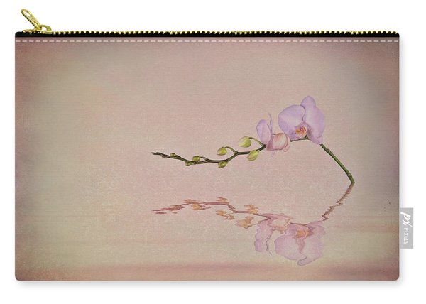 Orchid Blooms And Buds Carry-all Pouch