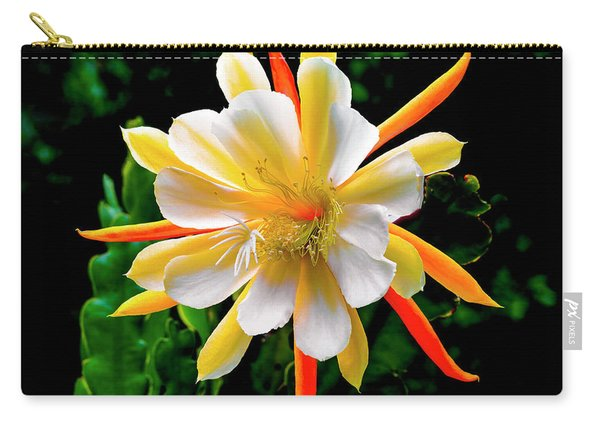 Orchid Cactus Epiphyllum Carry-all Pouch