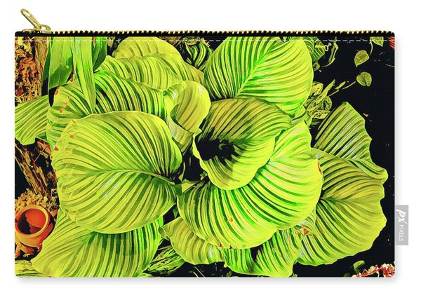 Orchid Green Fade Aloha  Carry-all Pouch