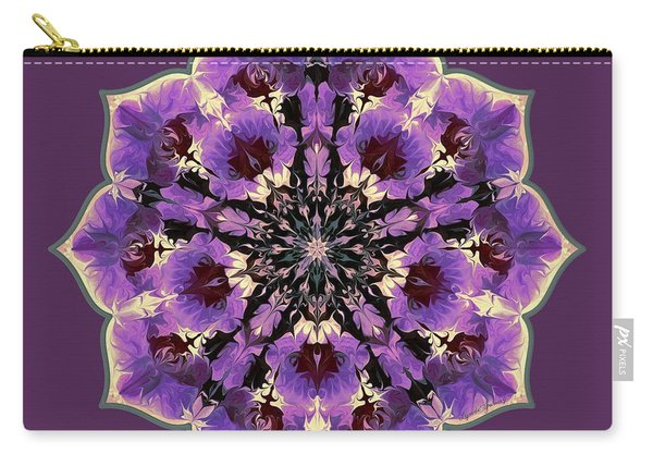 Orchid Lotus Carry-all Pouch