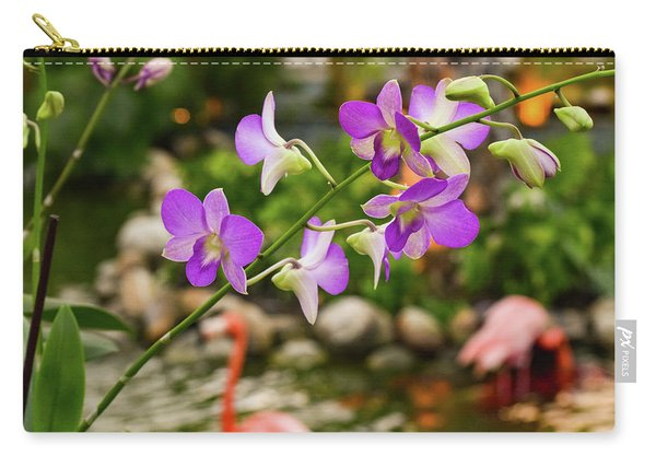 Orchids In Paradise Carry-all Pouch