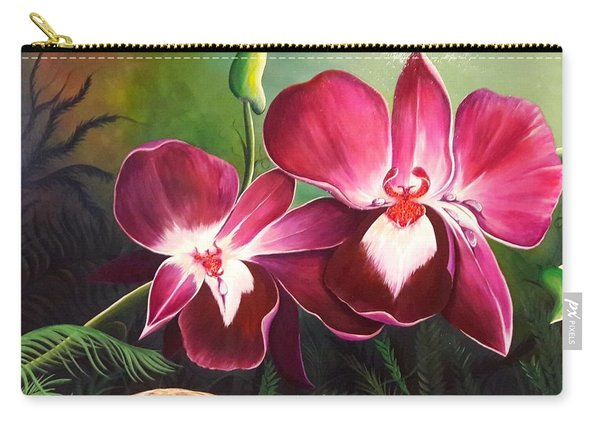 Orchids In The Night Carry-all Pouch