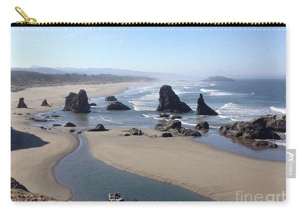 Oregon Coast Sea Stacks Carry-all Pouch