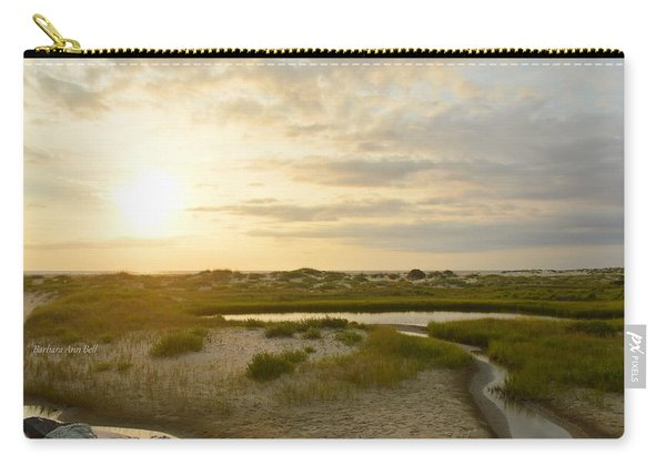 Oregon Inlet Sunrise In July Carry-all Pouch