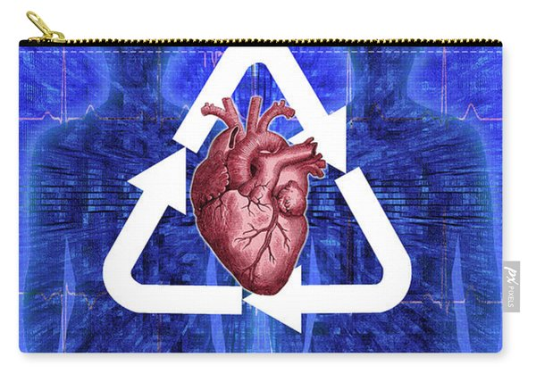 Organ Donation Carry-all Pouch