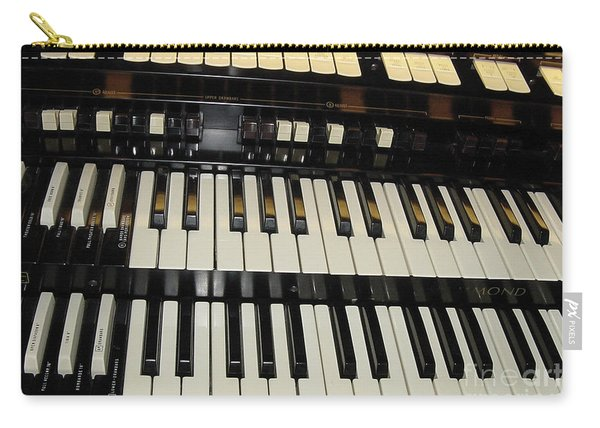 Hammond Organ Keys Carry-all Pouch