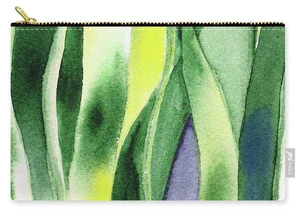 Organic Abstract By Nature I Carry-all Pouch