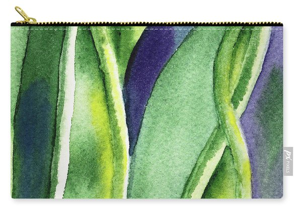 Organic Abstract By Nature II Carry-all Pouch