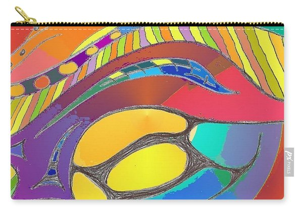 Organic Life Scan Or Cellular Light - Original, Square Carry-all Pouch
