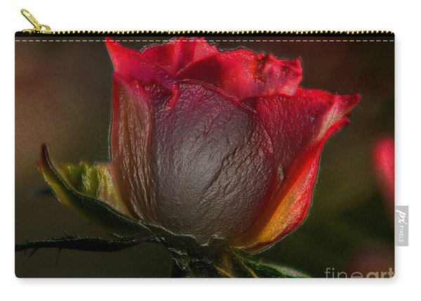Organic Rose Carry-all Pouch
