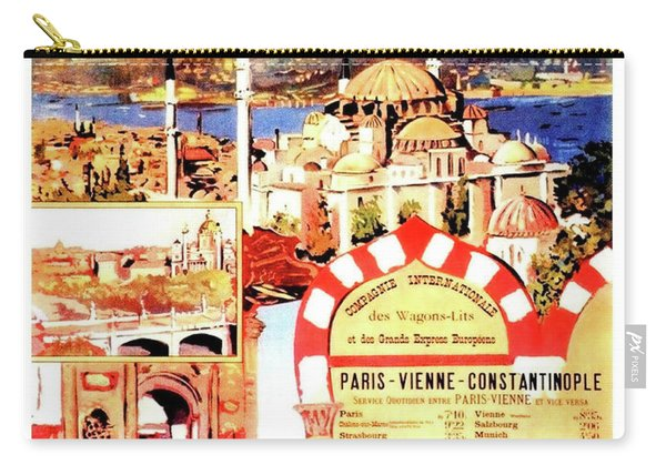 Orient Express, Istanbul, Vintage Travel Poster Carry-all Pouch