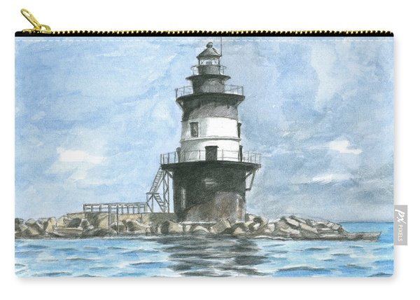 Orient Point Lighthouse Carry-all Pouch