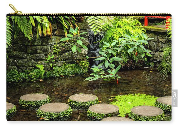 Oriental Garden Stepping Stones Carry-all Pouch