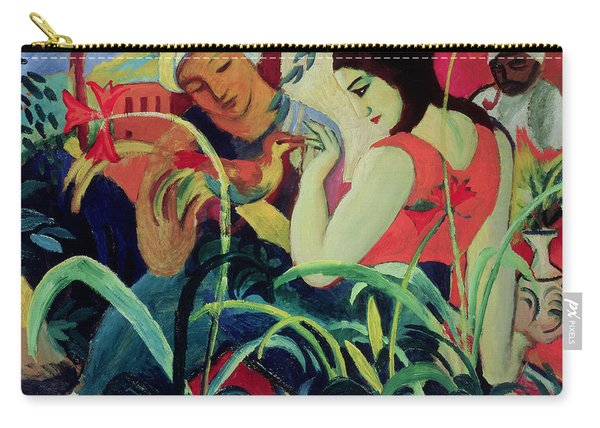 Oriental Women Carry-all Pouch