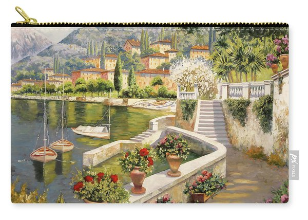 ormeggio a Bellagio Carry-all Pouch