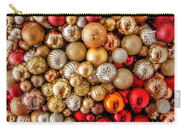 Ornament Wreath Carry-all Pouch