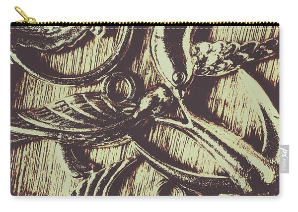 Ornamental Ornithology Carry-all Pouch