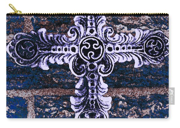 Ornate Cross 2 Carry-all Pouch
