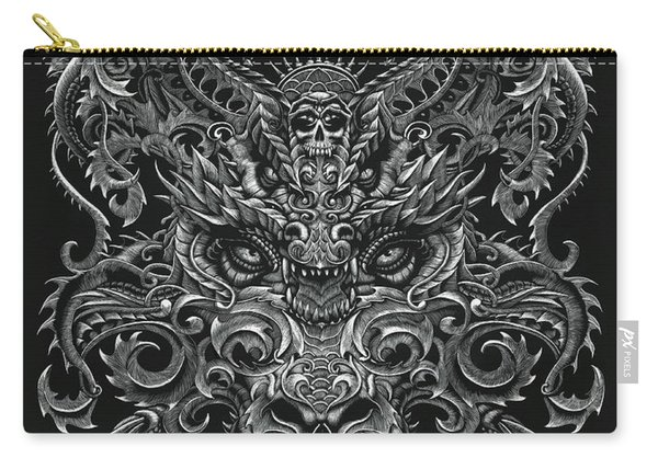 Ornate Dragon Carry-all Pouch