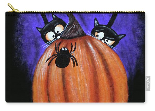 Oscar And Matilda - A Spider Oh Heck No Carry-all Pouch
