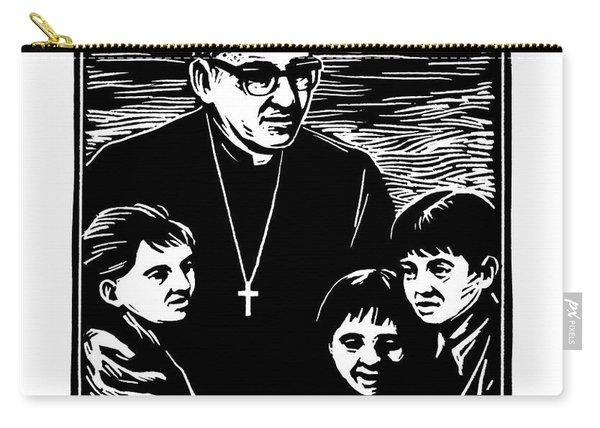 St. Oscar Romero - Jlosc Carry-all Pouch