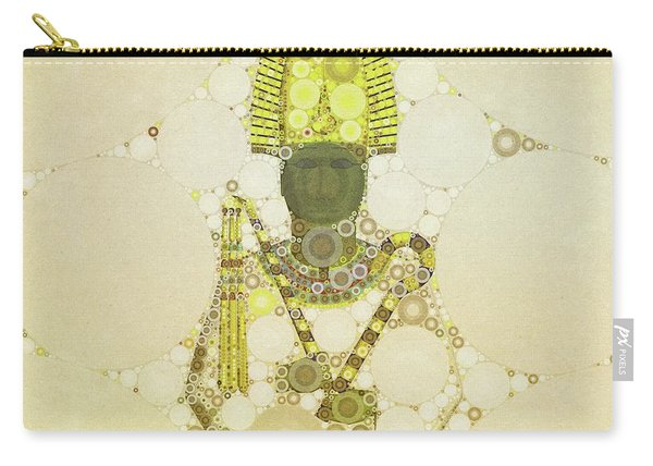Osiris, God Of Egypt By Mb Carry-all Pouch