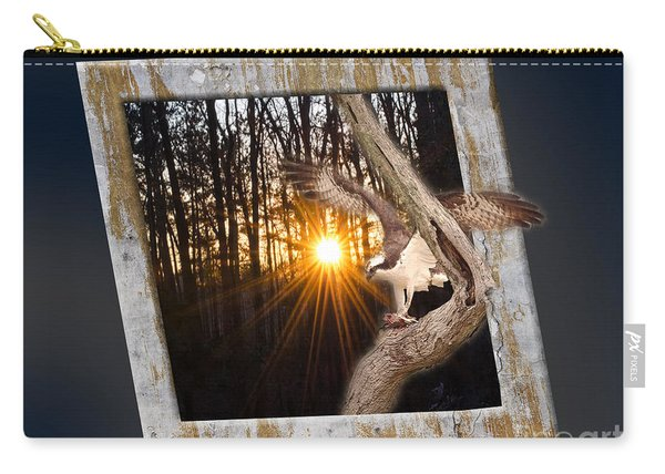 Osprey At Sunset Carry-all Pouch