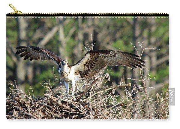 Osprey Nest Against Loblolly Carry-all Pouch