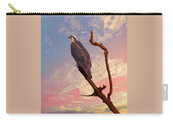 Osprey With Branch Carry-all Pouch