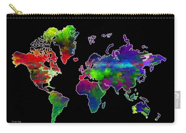Our Colorful World Carry-all Pouch