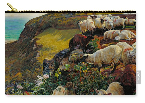 Our English Coasts Or Strayed Sheep Carry-all Pouch