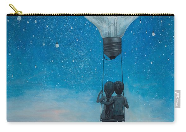 Our Love Will Light The Night Carry-all Pouch