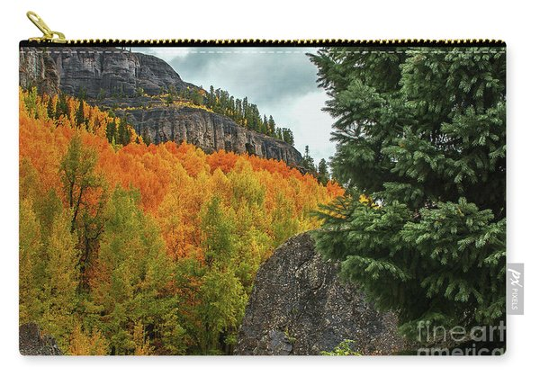 Carry-all Pouch featuring the photograph Ouray by Susan Warren