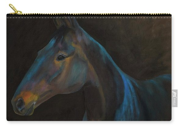 Out Of Darkness Comes A Horse Carry-all Pouch