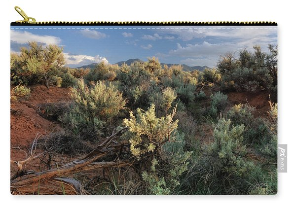 Out On The Mesa 7 Carry-all Pouch