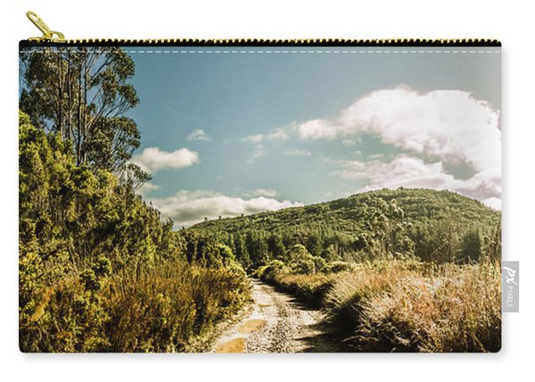Outback Country Road Panorama Carry-all Pouch