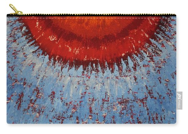 Outburst Original Painting Carry-all Pouch