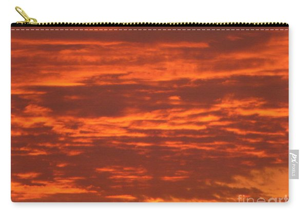 Outrageous Orange Sunrise Carry-all Pouch