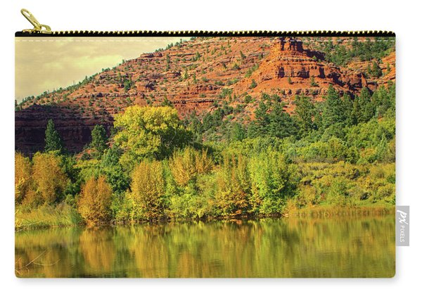 Carry-all Pouch featuring the photograph Outside Telluride by Susan Warren
