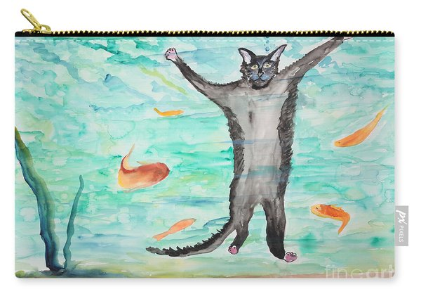 Outside The Fish Tank Carry-all Pouch