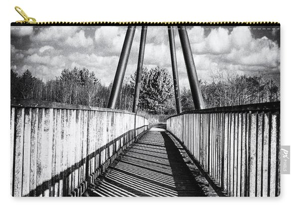Carry-all Pouch featuring the photograph Over And Under by Nick Bywater